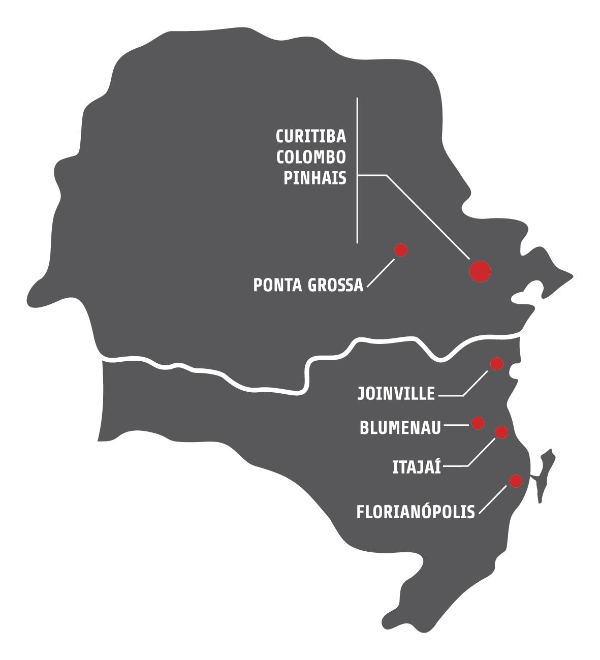 Mapa atualizado Versatil